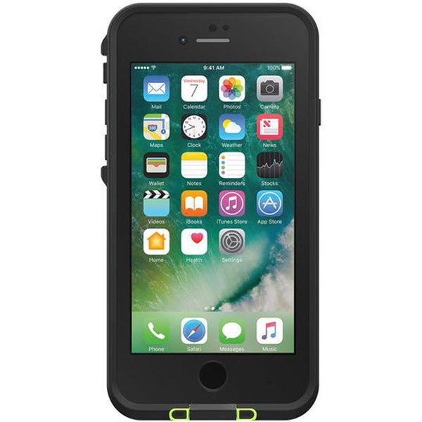 LifeProof FRE Case for iPhone 8+/7+ (Black Lime)