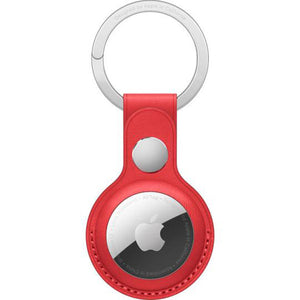 Apple AirTag Leather Key Ring (PRODUCT)RED