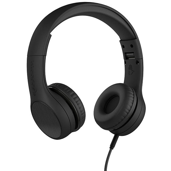 LilGadgets Connect+ Style Children's Wired Headphones - Black