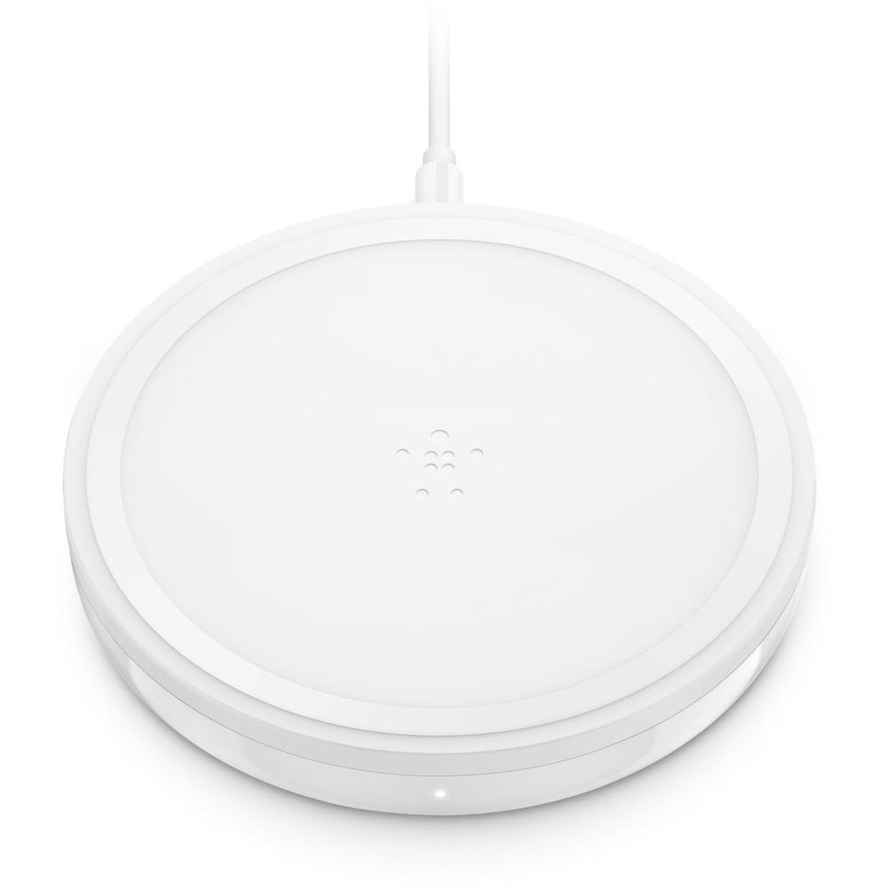 Belkin BoostUP Bold 10W Wireless Charging Pad (Snowcap White)