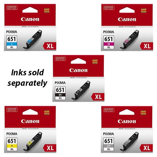 Canon CLI-651XL Ink Range- 695 pages