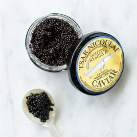 Golden Reserve White Sturgeon Caviar