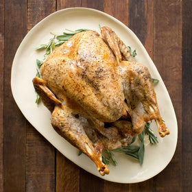 Whole Roasted Organic Turkey