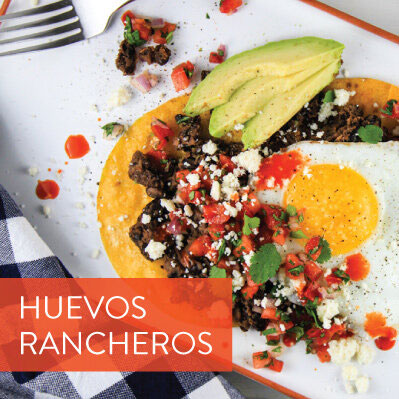 Fresh Inspiration! Huevos Rancheros for Breakfast, Lunch, or Dinner