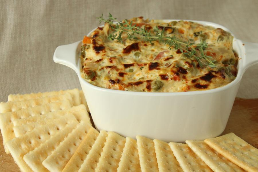 CHICKEN POT PIE SPREAD