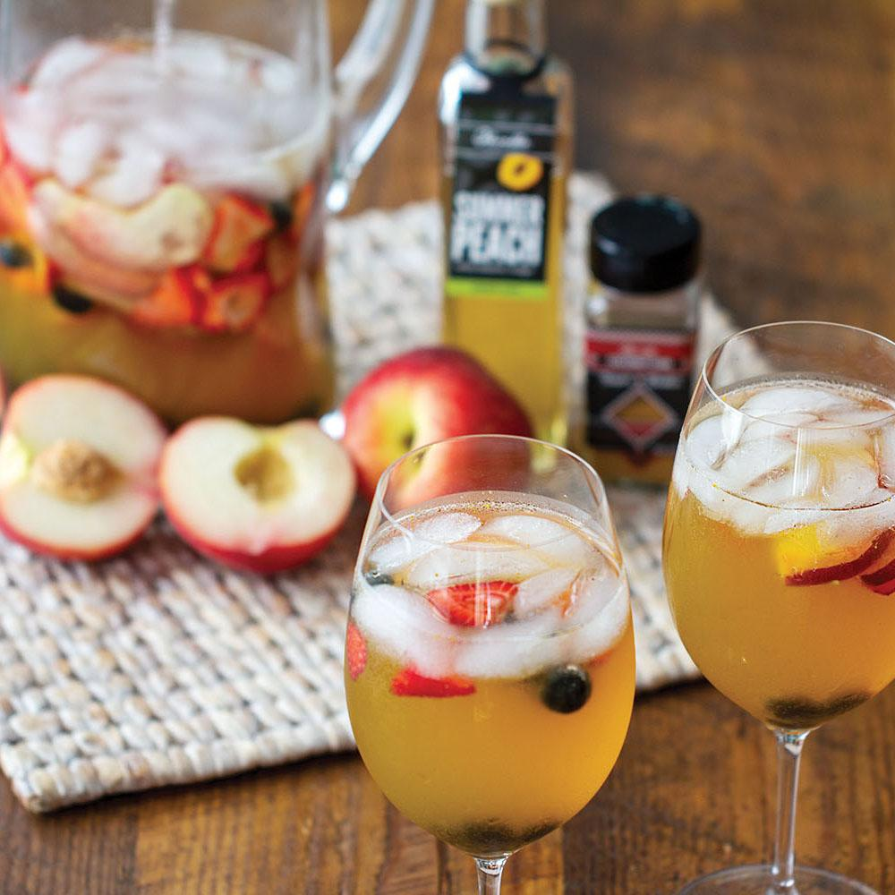 CHAI PEACH WHITE WINE SANGRIA