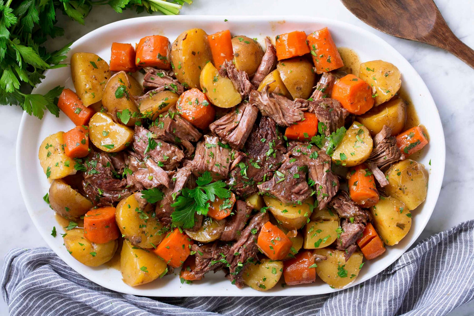 Not Your Traditional Pot Roast