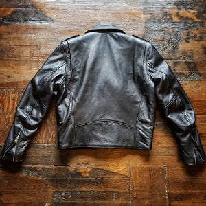 Private Label Leather Rocker Jacket