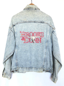 Rare 90's Brooks & Dunn Denim Jacket