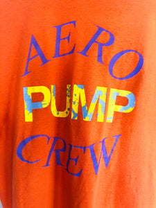 Rare '89 '90 Aerosmith Pump World Tour Concert Tee- Aero Pump Crew