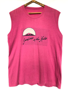 Authentic 80's Jamboree In The Hills Festival Muscle Tee