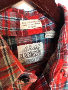 Saugatuck Dry Goods Company Flannel Shirt Men's Large