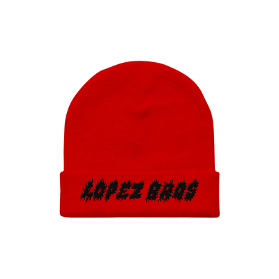 Culture Division Beanie Red