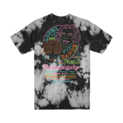Neon Faces Tee - Dyed