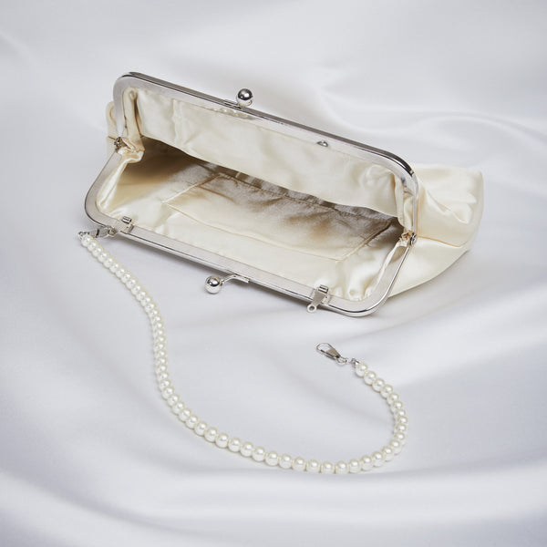 1950's Inspired Satin Bag