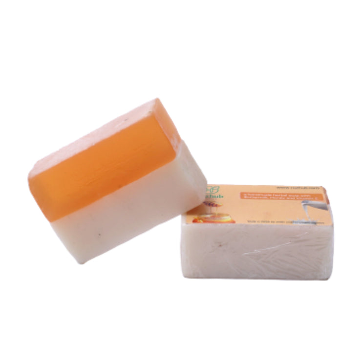 Buttermilk & Honey Handcrafted Natural Soap with Shea Butter and Vitamin E (100g)