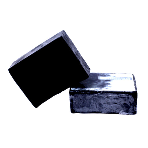 Activated Charcoal Soap Handcrafted & Natural with Shea Butter and Vitamin E - 100g - Rozhub Naturals
