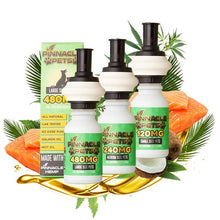 Load image into Gallery viewer, Pinnacle Hemp - CBD Pet Tincture - Salmon Tincture - 120mg-480mg