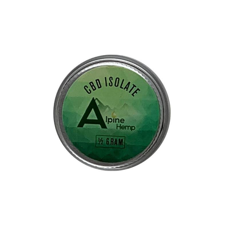Alpine Hemp - CBD Concentrate - Isolate - 0.5g-1g