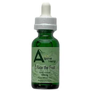 Alpine Hemp - CBD Vape - Face the Fruit - 100mg-300mg