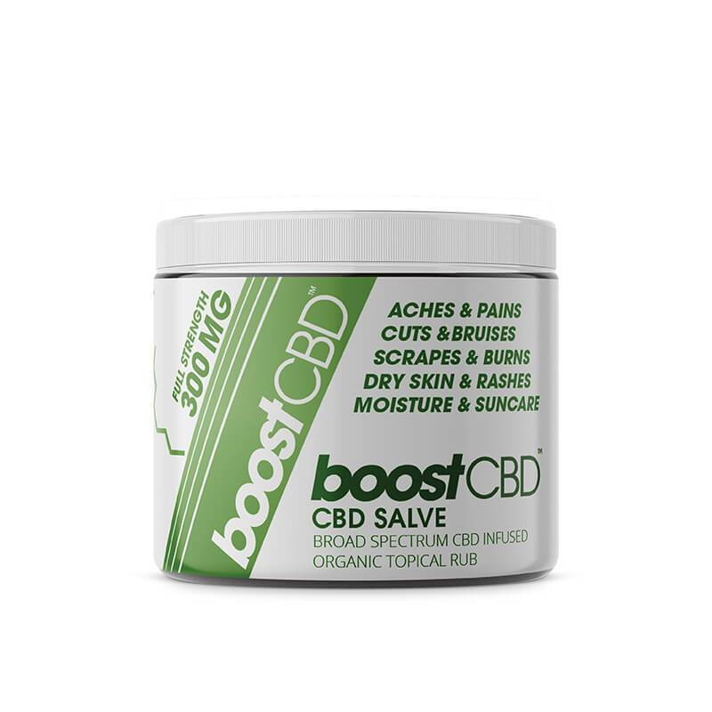 BoostCBD - CBD Topical - Infused Salve - 4oz