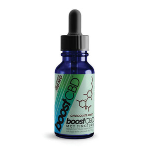 BoostCBD - CBD Tincture - Chocolate Mint - 250mg-1500mg