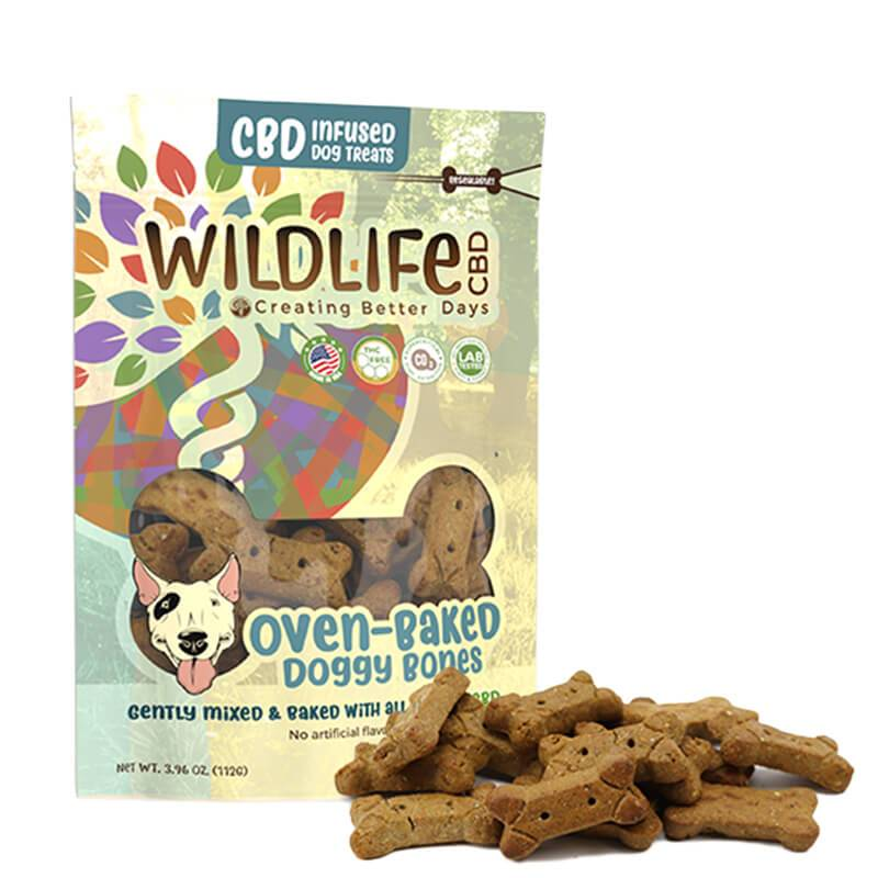 Creating Better Days - CBD Pet Treat - Large Dog Bone Treats - 15pc-10mg