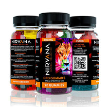 Load image into Gallery viewer, Nirvana - CBD Gummies - 500mg