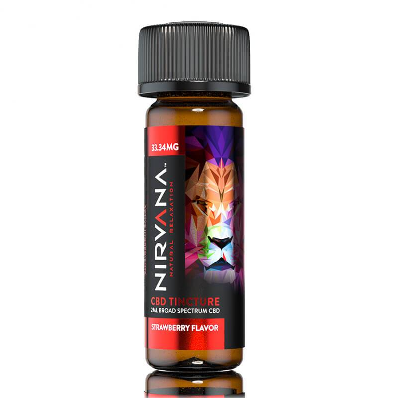 Nirvana - CBD Dram Tincture - Strawberry - 33mg