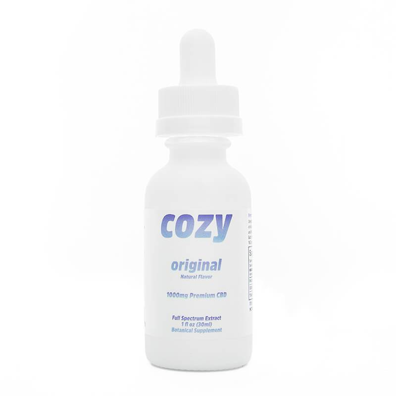 Cozy - CBD Tincture - Original - 1000mg