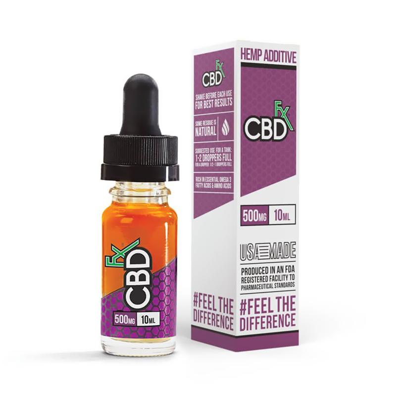 CBDfx - CBD Vape Oil Vape Additive - 500mg