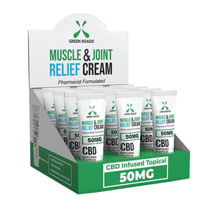 Green Roads - CBD Topical - Pain Cream on the Go - 50mg
