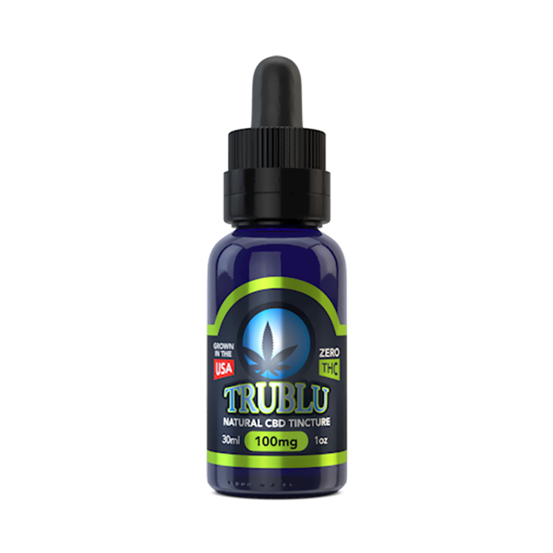 Blue Moon Hemp - CBD Tincture - Tru Blu - 125mg