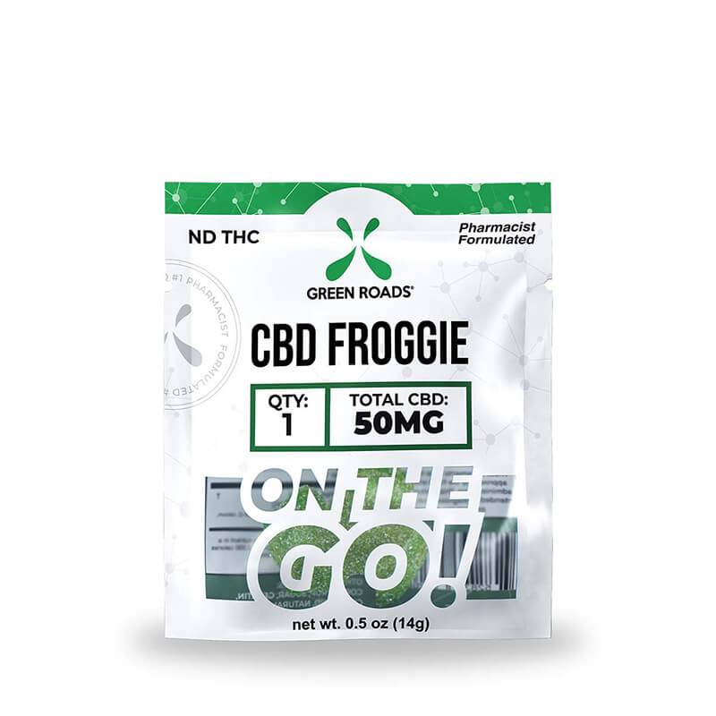 Green Roads - CBD Edible - Froggies OTG - 50mg