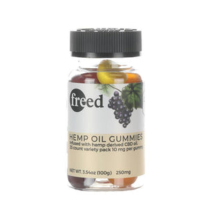 Freed - CBD Edible - Gummies - 10mg
