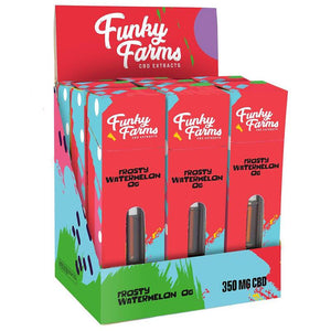 Funky Farms - CBD Terpene Cartridge - Frosty Watermelon - 350mg