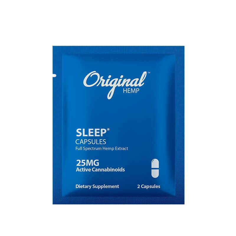 Original Hemp - CBD Capsule - Sleep 2 Pack - 25mg
