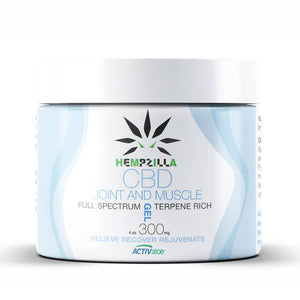 Hempzilla - CBD Topical - Muscle Gel - 300mg