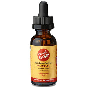 Be Well Dexter - CBD Tincture - Isolate Natural - 500mg-2000mg
