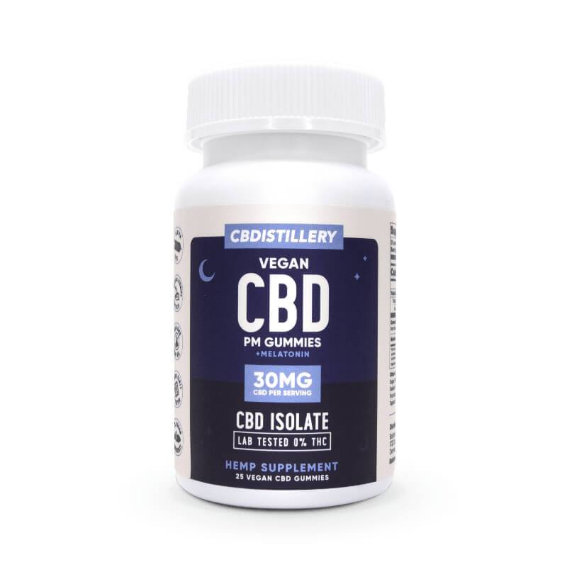 CBDistillery - CBD Edible - Nighttime Gummies 25 Count - 30mg