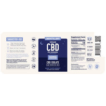 Load image into Gallery viewer, CBDistillery - CBD Edible - Nighttime Gummies 25 Count - 30mg
