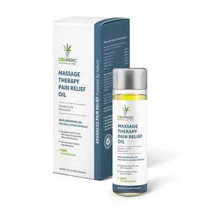 CBD Medic - CBD Topical - Massage Terapy Pain Relief Oil