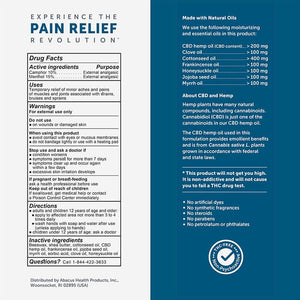 CBD Medic - CBD Topical - Active Sport Pain Relief Stick