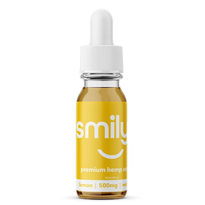 Smilyn - CBD Tincture - Lemon - 500mg-1500mg