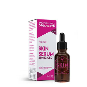 Kat's Naturals - CBD Topical - Skin Serum - 125mg-250mg