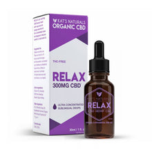 Load image into Gallery viewer, Kat's Naturals - CBD Tincture - Relax - 50mg-300mg
