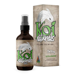 Koi CBD - CBD Tincture Spray - Full Spectrum Spearmint - 1500mg-3000mg