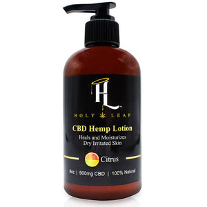 Holy Leaf - CBD Topical - Citrus Lotion