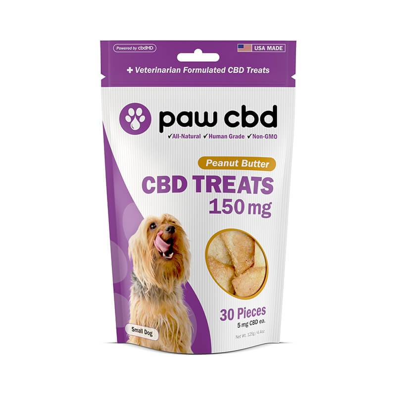 cbdMD - CBD Pet Edible - Peanut Butter Dog Treats - 150mg-600mg