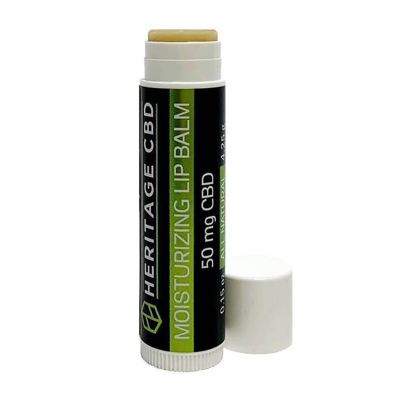 Heritage Hemp - CBD Topical - Lip Balm - 50mg